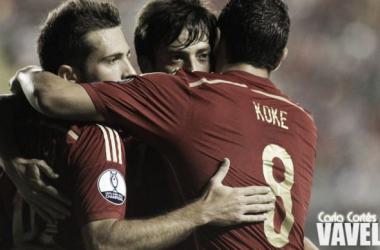 Buscando mais uma vitória nas Eliminatórias para a Euro 2016, Espanha visita a Eslováquia