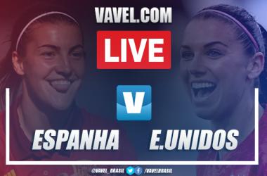 Gols e Melhores Momentos de Espanha x Estados Unidos pela Copa do Mundo Feminina (1-2)
