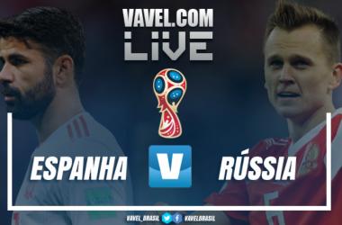 Resultado e gols de Espanha x Rússia na Copa do Mundo 1x1 (3-4)