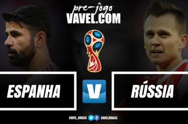 Espanha e Rússia medem forças por vaga nas quartas da Copa do Mundo