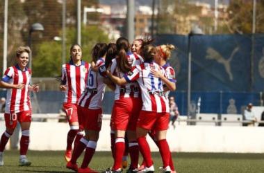 Tres puntos separan al Atleti Féminas del sueño europeo