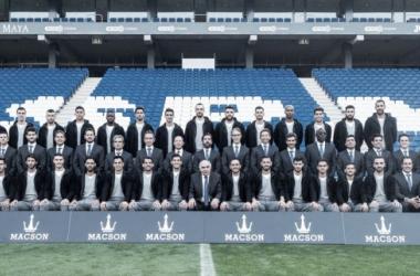 Foto oficial del conjunto dirigido por Quique Sánchez Flores. Fuente: RCD Espanyol.