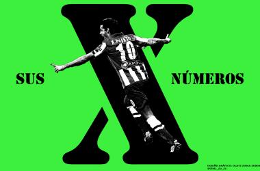 """Especial Xabi Prieto (III): Los números del penúltimo """"10""""."""