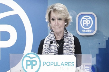 Esperanza Aguirre comunica su dimisión como presidenta del PP de Madrid | Europa Press