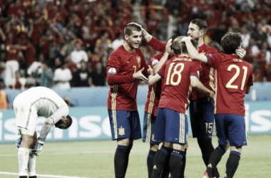 España - Turquía: puntuaciones de España, jornada 2 de la Eurocopa 2016