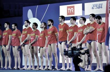Jugadores de España de Waterpolo. Fuente: Waterpolo ESP