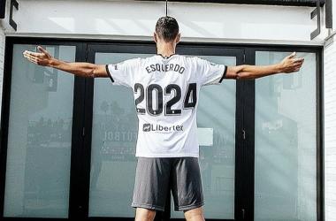 Vicente Esquerdo renueva hasta 2024