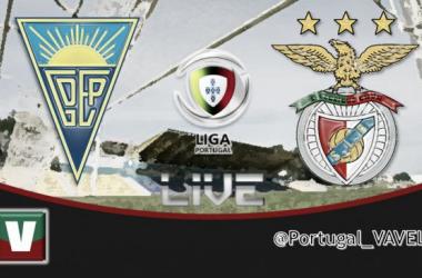 Resultado Estoril - Benfica en la Liga Portuguesa 2014 (2-3)
