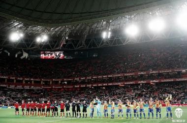 El Nuevo San Mamés se le resiste al Valencia CF