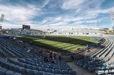 El Coliseum no estará preparado para la primera jornada de Liga. | Foto: Getafe CF