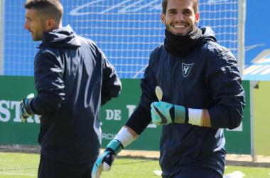 Esteve Peña, nuevo portero del filial del Granada | Foto: UCAM Murcia