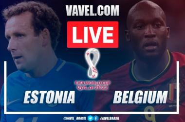 Goals and Highlights Estonia vs Belgium (2-5)