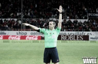 Estrada Fernández arbitrará el partido frente al Leganés