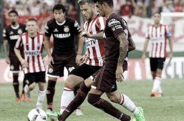 El último encuentro ente ambos finalizó con victoria Granate por 1 a 0. (Foto: Clarín)