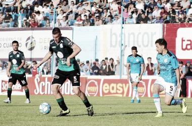 Ultimo enfrentamiento de Estudiantes y Belgrano, fue 1 a 1 en Rio Cuarto.<div>Fuente: Canal Showsport.</div>