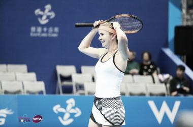 Elina Svitolina wins her fifth career title here in Taipei   Photo: WTA Taiwan Open