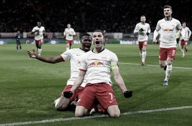 RB Leipzig atropela Tottenham e vai às quartas da UCL pela primeira na história