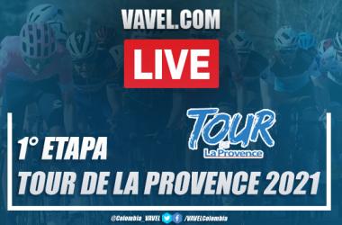 Resumen Tour de La Provence 2021 etapa 1 entre Aubagne y Six-Fours-les-Plages