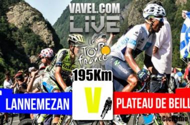 Posiciones etapa 12 del Tour de Francia 2015: Lannemezan - Plateau de Beille