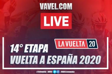 Resumen Vuelta a España EN VIVO etapa 14 entre Lugo y Ourense