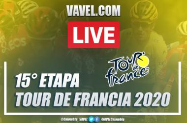 Tour de Francia: resumen etapa 15, entre Lyon - Grand Colombier