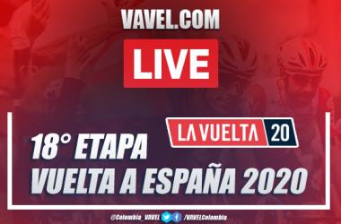 Resumen Vuelta a España EN VIVO etapa 18: Primož Roglič, el rey de nuevo en Madrid