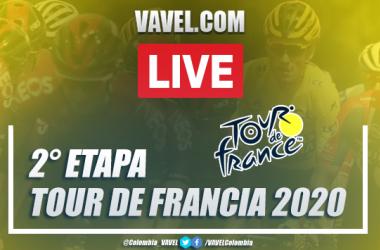 Tour de Francia 2020: resumen, etapa 2 en Niza