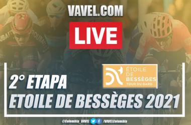 Resumen Etoile de Bessèges 2021 etapa 2 entre Saint Geinès de Malgoirèes y La Calmette