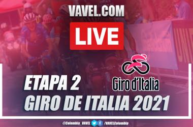 Resumen etapa 2 Giro de Italia 2021: Stupinigi - Novara