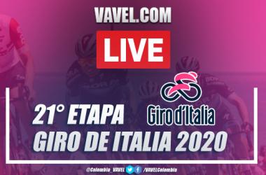 Giro de Italia EN VIVO etapa 21, resumen entre Cernusco y Milán: ¡Tao Geoghegan es el campeón!