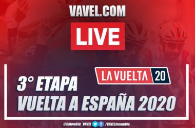 Vuelta a España 2020 EN VIVO etapa 3: resumen entre Lodosa y Laguna Negra