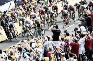 Sprint final de la etapa 7 Tour de Francia / Foto:letour.fr