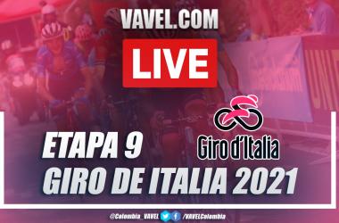 Resumen etapa 9 Giro de Italia 2021: Castel di Sangro-Campo Felice