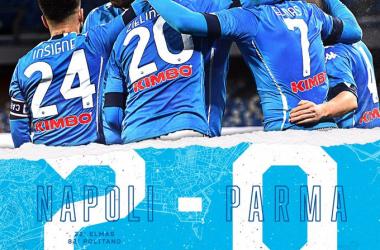 Serie A - Il Napoli batte il Parma per 2-0
