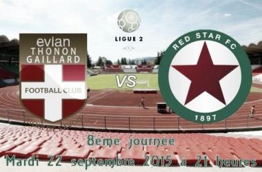 Revivez le live Evian Thonon Gaillard - Red Star (0-1)