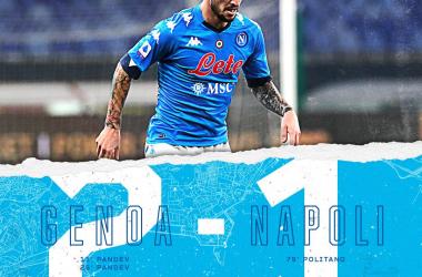 Napoli sfortunato a Marassi. I meriti del Genoa ci sono tutti