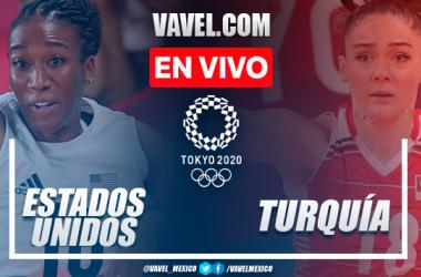 Resumen: Estados Unidos 3-2 Turquía en Voleibol Femenil por Juegos Olímpicos Tokio 2020