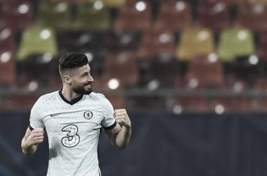 Olivier Giroud agitó la varita / FOTO: Chelsea FC