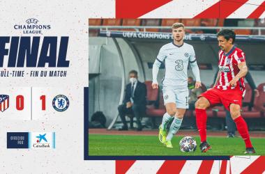 El Atleti deberá reaccionar en Stamford Bridge (0-1)