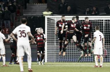 Pjanić não pára de marcar golos de livre directo (Fonte: Gazetta.it)