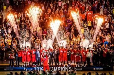 Le CSKA vainqueur de cette édition 2015-2016.