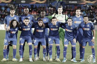 José Bordalás alineó un once de gala para enfrentarse al Krasnodar | Fuente: Getafe CF