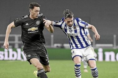 La Real Sociedad disputando la Europa League la presente temporada. Fuente: RealSociedad
