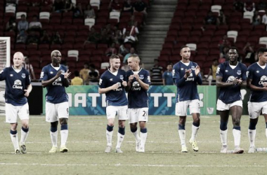Everton (5) 0-0 (4) Stoke: Blues reach final of Barclays Asia Trophy after shoot-out victory
