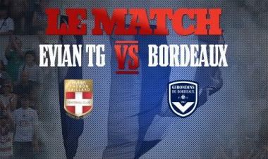 Evian Thonon Gaillard-Bordeaux en Direct Live (Terminé)