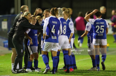 "Carla Ward: ""We looked tired against Everton"""
