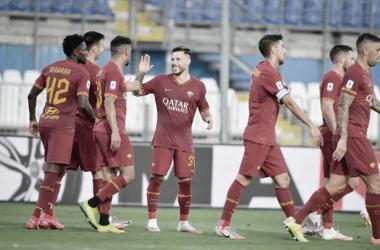 Dominante do início ao fim, Roma conquista vitória e deixa Brescia mais próximo da Serie B