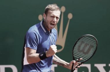 Dan Evans venceu David Goffin no Masters 1000 de Monte Carlo 2021 (ATP / Divulgação)