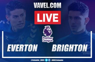 Resumen y goles Everton vs Brighton (4-2): Que de la mano, de James Rodríguez...