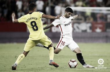 Ever Banega y Fornals en la jornada 2 de La Liga | Foto: La Liga Santander